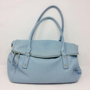 Kate spade Cobble hill Leslie Powder blue satchel